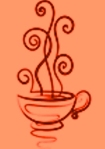 peach teacup